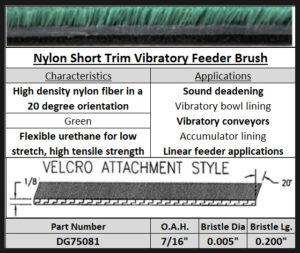 Vibratory Feeder Brush